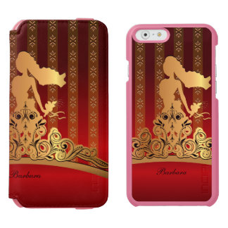 Golden Bridal Princess Tiara Crown Incipio Watson™ iPhone 6 Wallet Case