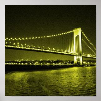 Golden Bridge print