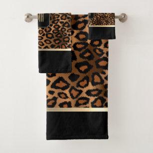 Animal Print Bath Towels Zazzle Co Uk
