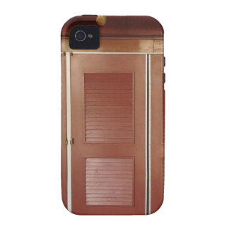 Golden Brown Building Interior Decorations iPhone 4/4S Covers
