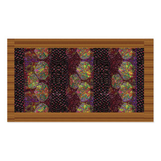 Golden Brown Fashion Border Event FUN Business Pack Of Standard Business Cards
