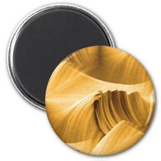 golden_brown_sandstone_scape magnet