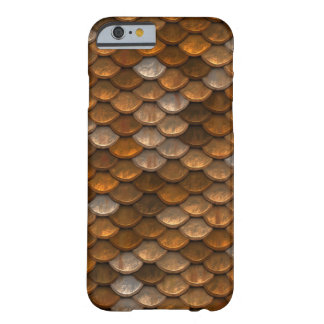 Golden Brown Snake Scale Phone Cover
