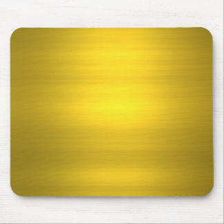 golden brushed mouse pads
