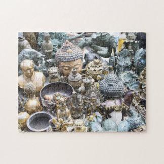 Golden Buddahs Photo Puzzle