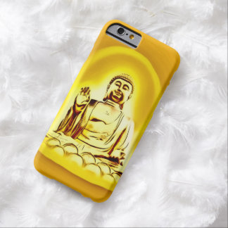 Golden Buddha Airbrush Art iPhone 6 Case