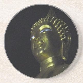 Golden Buddha at Night Coaster