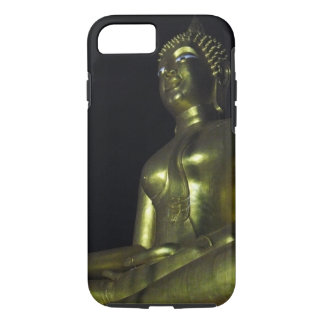 Golden Buddha at Night iPhone 7 Case