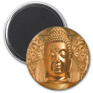 Golden Buddha - Awesome Refrigerator Magnet