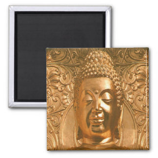 Golden Buddha - Awesome Magnet