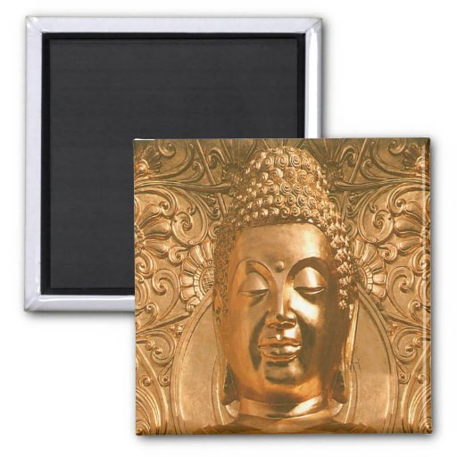 Golden Buddha - Awesome Refrigerator Magnets