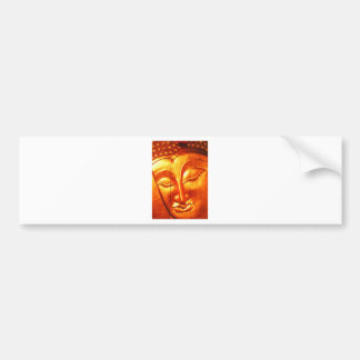 Golden Buddha Bumper Sticker