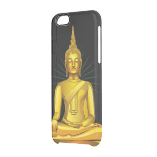 Golden Buddha Clear iPhone 6/6S Case