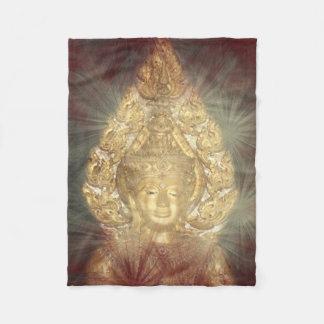 golden buddha flies blanket