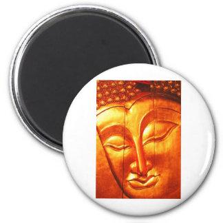 Golden Buddha Fridge Magnet