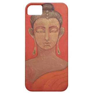 Golden Buddha in Orange iPhone 5 Case