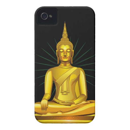 Golden Buddha iPhone 4 Case
