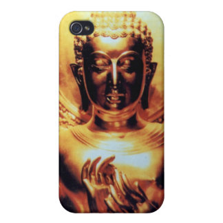 Golden Buddha iPhone 4 Cases