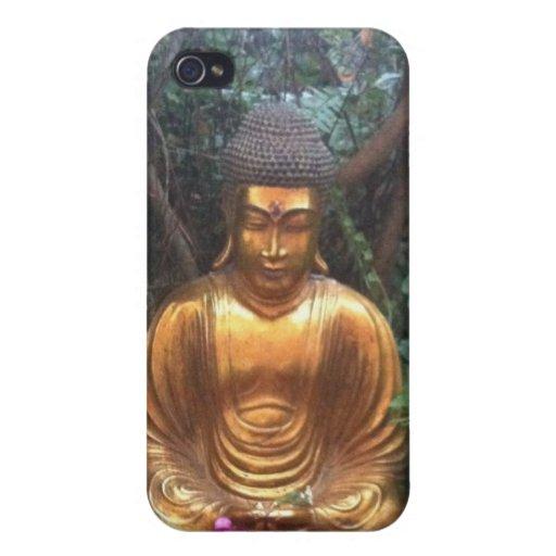 Golden buddha iPhone 4/4S cases