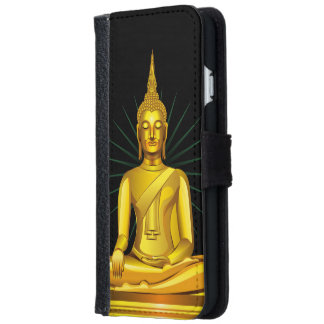 Golden Buddha iPhone iPhone 6 Wallet Case