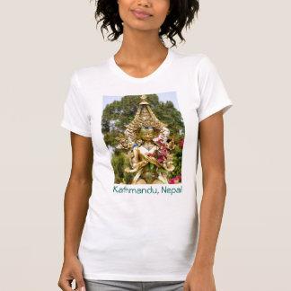 Golden Buddha Kathmandu Nepal T-Shirt