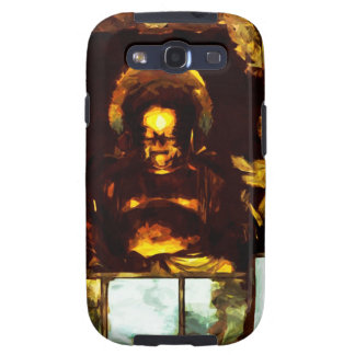 Golden Buddha Kyoto Japan Abstract Impressionism Samsung Galaxy S3 Case