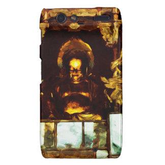 Golden Buddha Kyoto Japan Abstract Impressionism Motorola Droid RAZR Covers