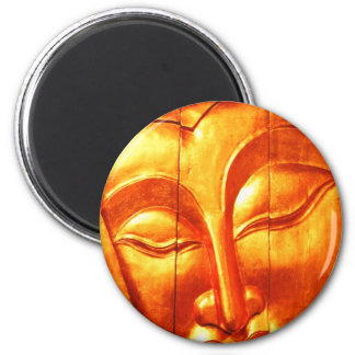 Golden Buddha Refrigerator Magnets