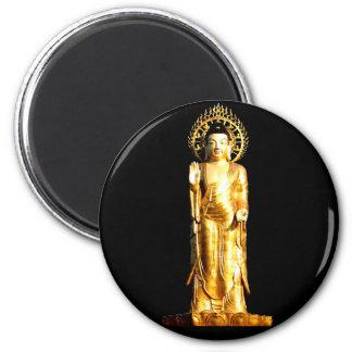 Golden Buddha Refrigerator Magnet