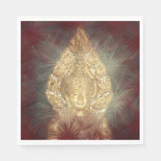 golden buddha napkins paper serviettes