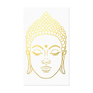 Golden Buddha of Mindfulness Canvas