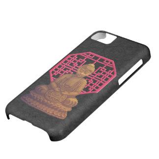 Golden Buddha Pixel Art iPhone 5C Cases