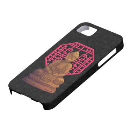 Golden Buddha Pixel Art iPhone 5/5S Covers