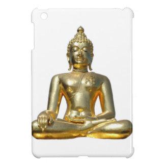 Golden Buddha Statue iPad Case