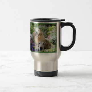 Golden Buddies Travel Mug