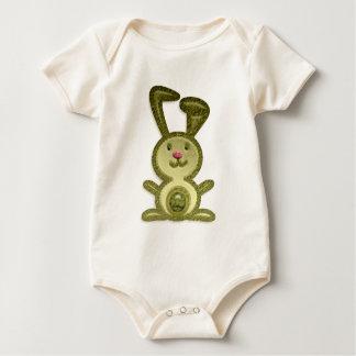 Golden Bunny Baby Bodysuit