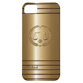 Golden Business & Legal Lawyer iPhone 5 Case