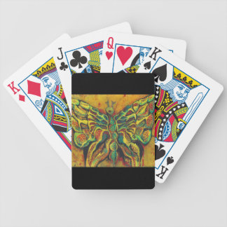Golden Butterfly Designer Playing Cards