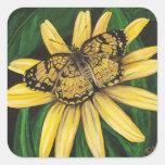 Golden Butterfly Stickers