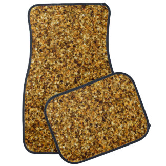 Golden Camouflage Car Mat Full Set