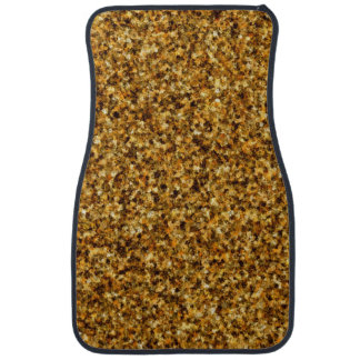 Golden Camouflage Front Car Mat
