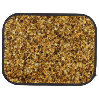 Golden Camouflage Rear Car Mat