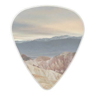 Golden Canyon at Sunset Acetal Guitar Pick