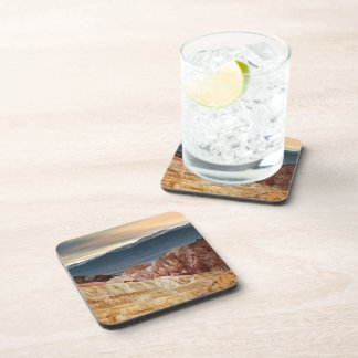 Golden Canyon at Sunset Drink Coasters
