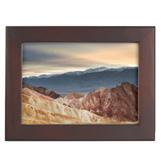 Golden Canyon at Sunset Keepsake Box