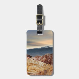 Golden Canyon at Sunset Luggage Tag