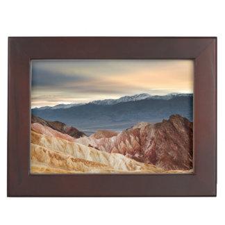 Golden Canyon at Sunset Memory Boxes