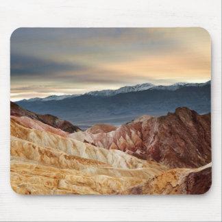Golden Canyon at Sunset Mouse Mat