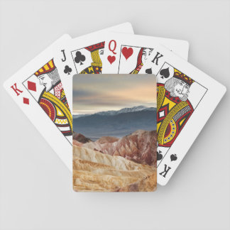 Golden Canyon at Sunset Playing Cards