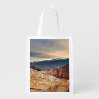 Golden Canyon at Sunset Reusable Grocery Bag